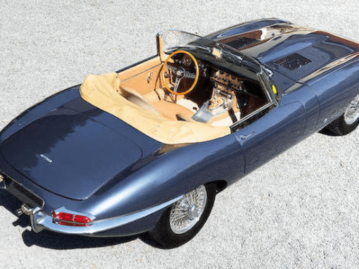 1961–1975 E-type Jaguar or XK E